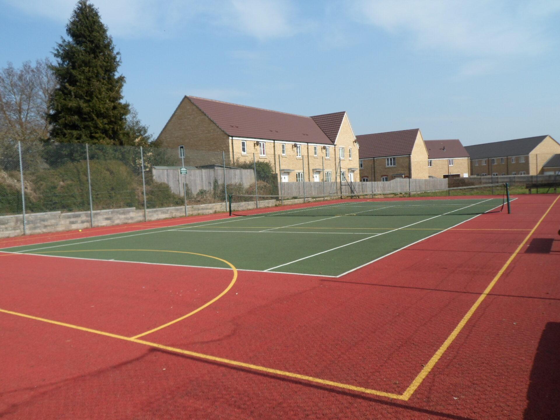 Tennis Court at Norton Hill Recreation Ground